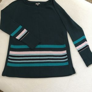 Talbots Teal Sweater Size Petite S